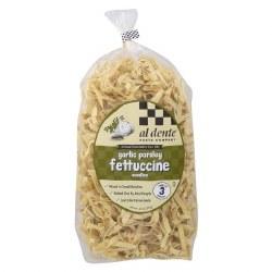 Al Dente Garlic Parsley Fettucine Pasta 12oz