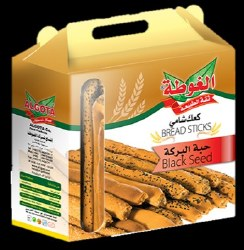 Al Gota Breadsticks with Black Seeds 454g