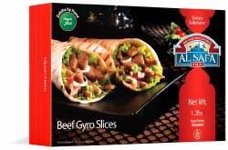 Al Safa Beef Gyro Slices 19oz