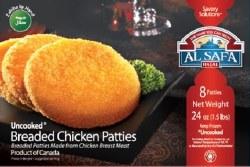 Al Safa Chicken Patties 24oz