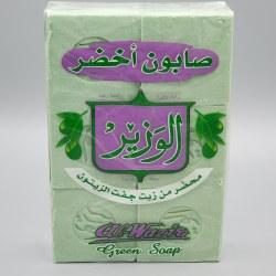 Al-Wazir Green Soap 6 pc