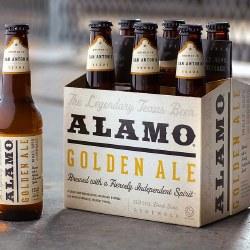 Alamo Golden Ale 6 pack
