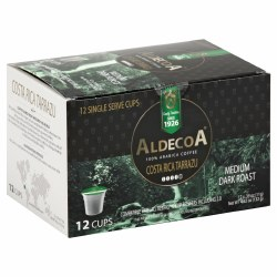 Aldecoa Coffee Costa Rica Tarrazu 12pc