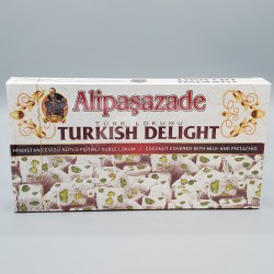 Alipasazade Turkish Delight Milk & Pistachio 1lb