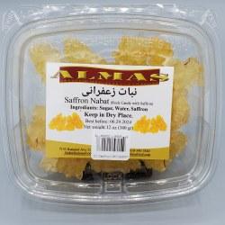 Almas Rock Candy With Saffron 12 oz
