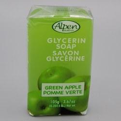 Alpen Secrets Glycerine Soap Green Apple 105g