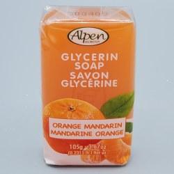 Alpen Secrets Glycerine Soap Orange 105g