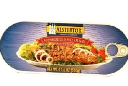 Alstertor Fried Herrings in Spicy Marinade 500g
