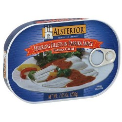 Alstertor Herring Fillets in Paprika Sauce 7.05g