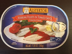 Alstertor Herring Fillets in Tomatoes 7 oz