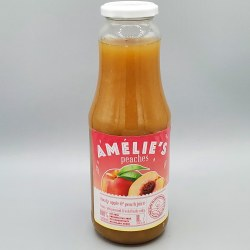 Amelie's Apple Peach Juice 1lt