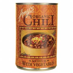 Amy's Organic Medium Chili with Vegetables 14oz