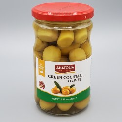 Anatolia Green Coctail Olives 630g
