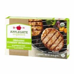 Applegate Naturals Organic Turkey Burgers 16oz