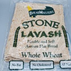 Ara-z Stone Lavash Whole Wheat 16oz