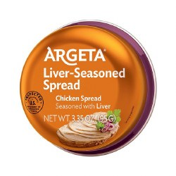 Argeta Chicken Spread Seasoned with Liver 3.35oz
