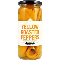 Artion Yellow Roasted Peppers 454g
