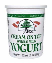 Arz Yogurt Cream on Top 32oz