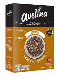Avelina Oatmeal Flaxseed, Black Sesame and Chia 14oz