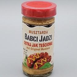 Babci Jadzi Hot Mustard 4oz