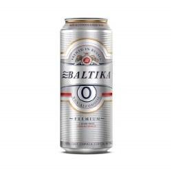Baltika #0 Non-Alcoholic Lager Beer 16.9oz