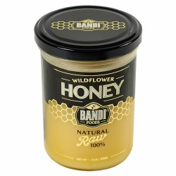 Bandi Wildflower Honey, Natural Raw 100%, 500g