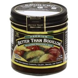 Better Than Bouillom Seasoned Vegetable Base 8oz