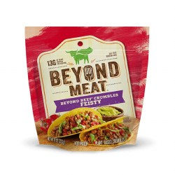 Beyond Meat Plant Based Beef Crumbles, Feisty 10oz