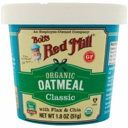 Bob's Red Mill Oatmeal Cup 1.8oz