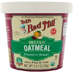 Bob's Red Mill Oatmeal Cup Cranberry and Orange 2.47oz