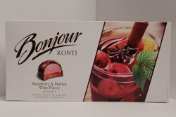 Bonjour Souffle Raspberry Mulled and Wine Flavor 232g
