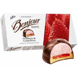 Bonjour Souffle Strawberry and Cream 232g