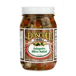 Boscoli Jalapeno Olive Salad 16oz