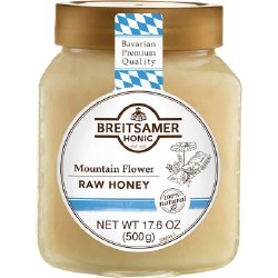 Breitsamer Mountain Flower Raw Honey 500g