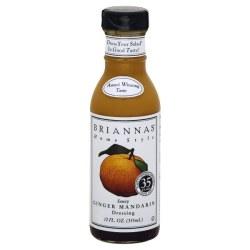 Briannas Ginger Mandarin Dressing 12oz