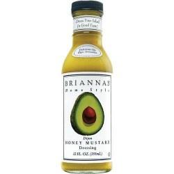 Briannas Honey Mustard Dressing 12oz