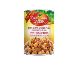 California Garden Fava Beans with Chick Peas 15oz