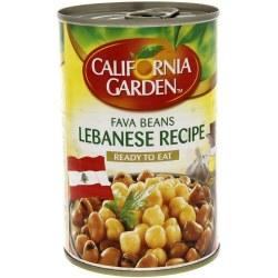 California Garden Fava Beans Lebanese Recipe 15oz