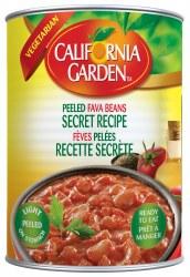 California Garden Fava Beans Peeled 15oz