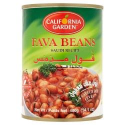 California Garden Fava Beans Saudi Style 15 oz