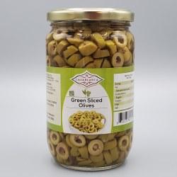 Casablanca Green Olive Slices 380g