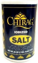 Chirag Salt Iodized 26oz