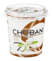 Chobani Yogurt Vanilla None Fat 32oz