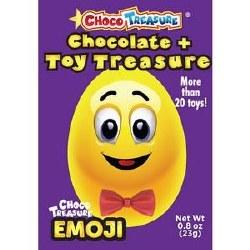 Choco Treasure Chocolare Egg Emoji 23g
