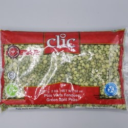 Clic Green Peas Split 2lb