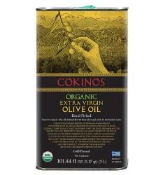 Cokinos Extra Virgin Olive Oil Organic 3lt