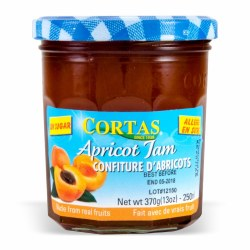 Cortas Apricot Jam Sugar Free 13oz