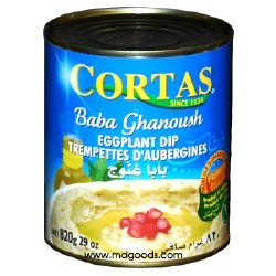 Cortas Baba Ganouge (Eggplant Dip) 29 oz