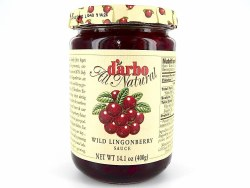 D'Arbo Lingonberry Sauce 14 oz (Austria)