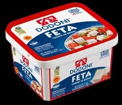 Dodoni Feta Cheese Tub 1 kg
